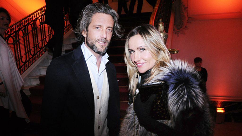 Hugo Portuondo y Clara Courel