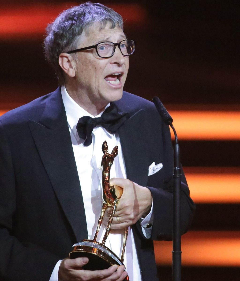 Bill Gates, premio 'Millenium'