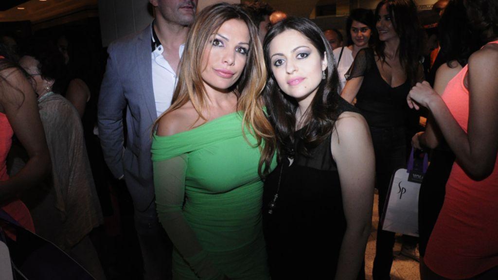 Lorena Morlote y María Cordero