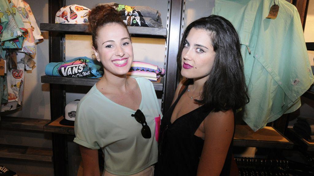Pitty Bernad y Carla Cabrera, de Le Garage TV