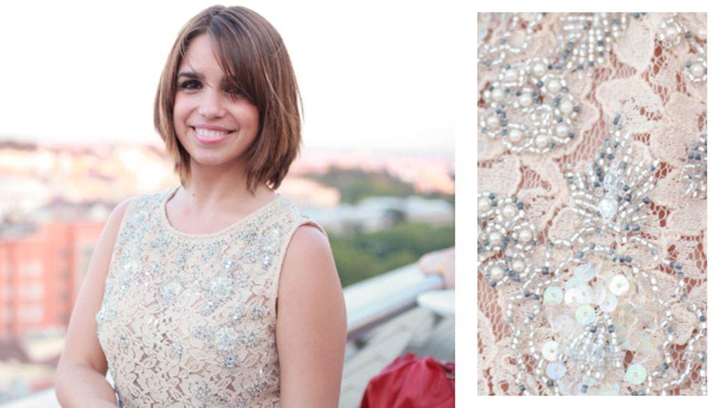 Elena Furiase también se decantó por un vestido de Asos para los premios Fragancias Cosmopolitan