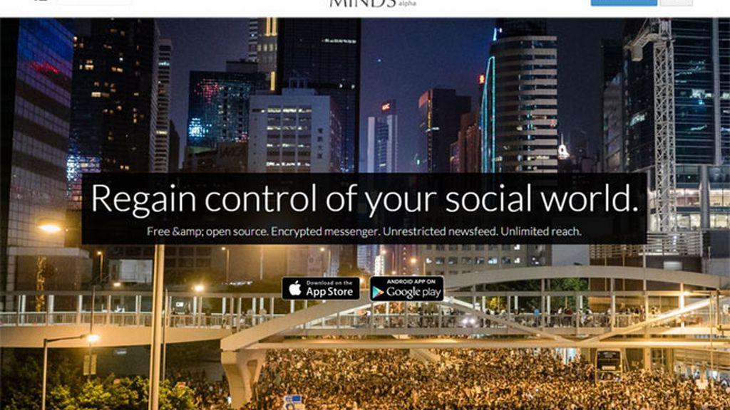 Minds.com,Minds,red social alternativa