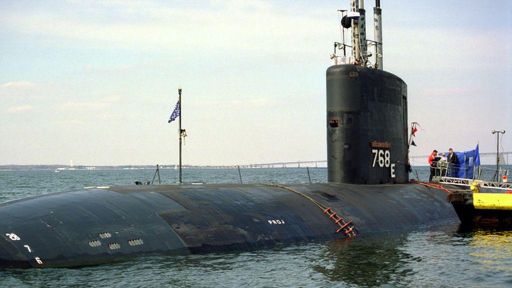 El submarino USS Hartford