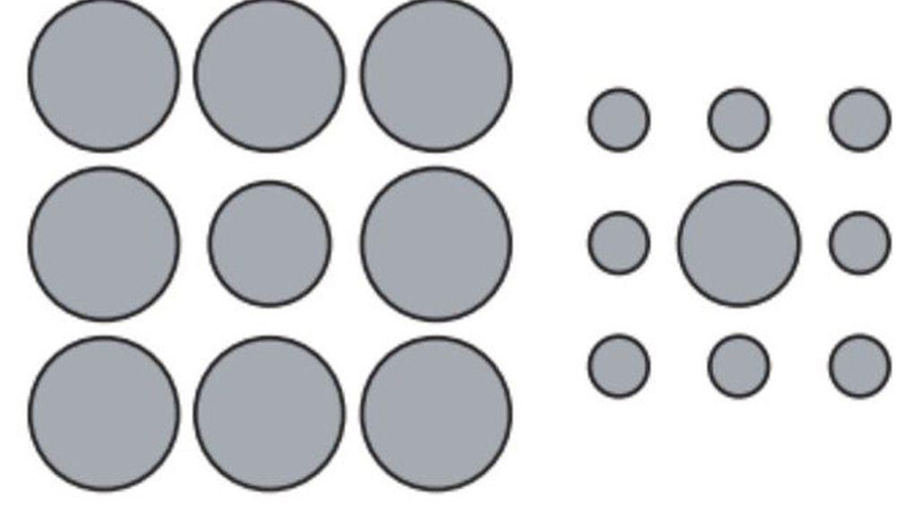 Ilusión de Ebbinghaus
