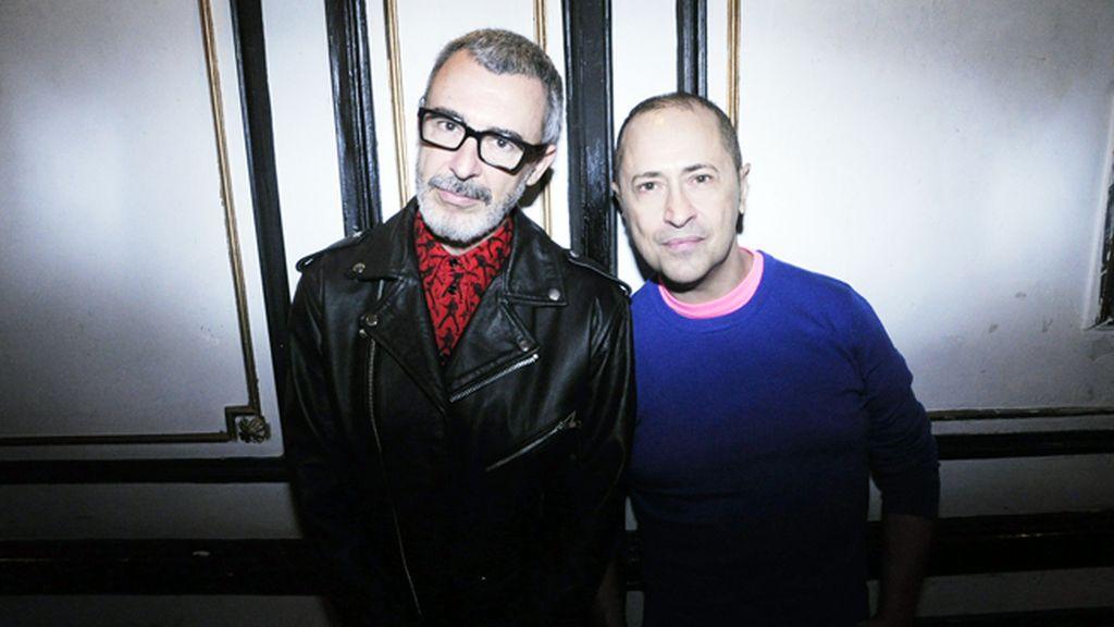 Paco Tomás y Pedro Munster