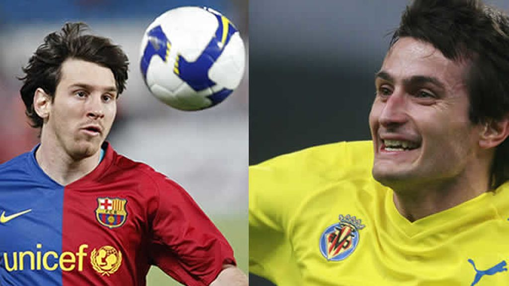 Messi, Barcelona, y Llorente, Villarreal