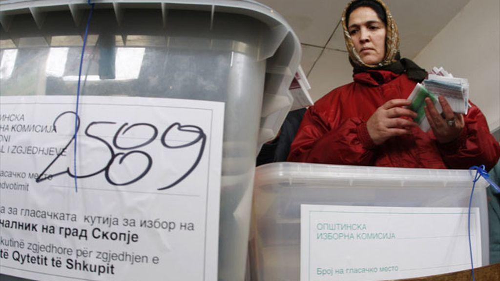 Elecciones en Macedonia