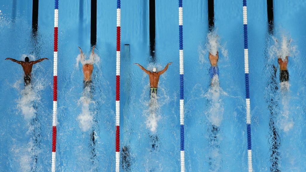 Los nadadores se ponen a punto para los Juegos