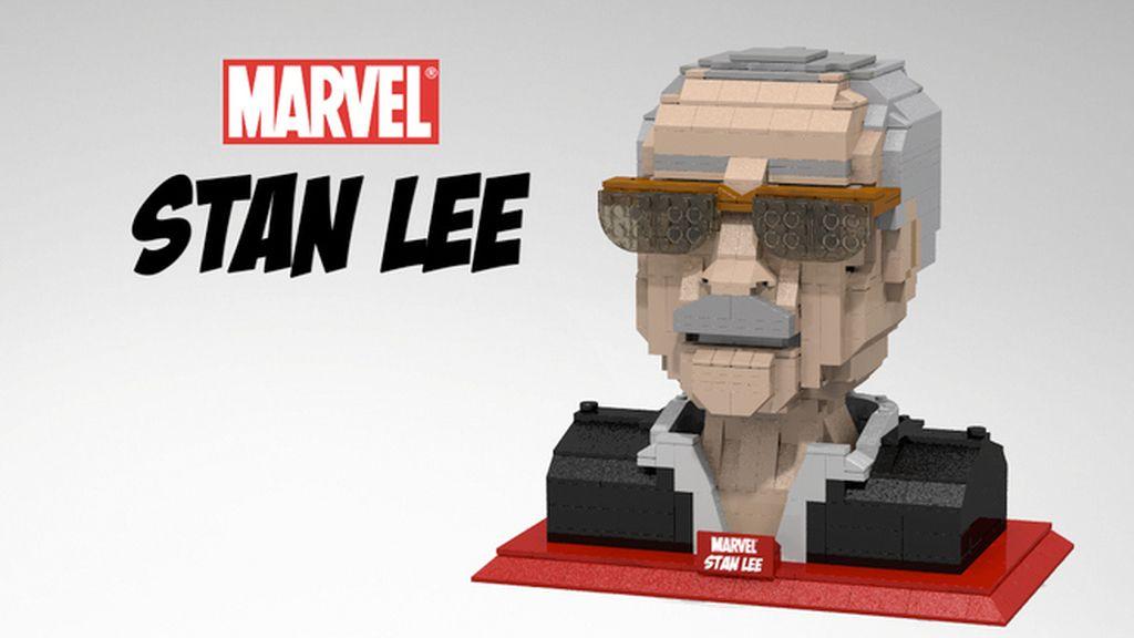 Stan Lee se convierte en una figura de LEGO