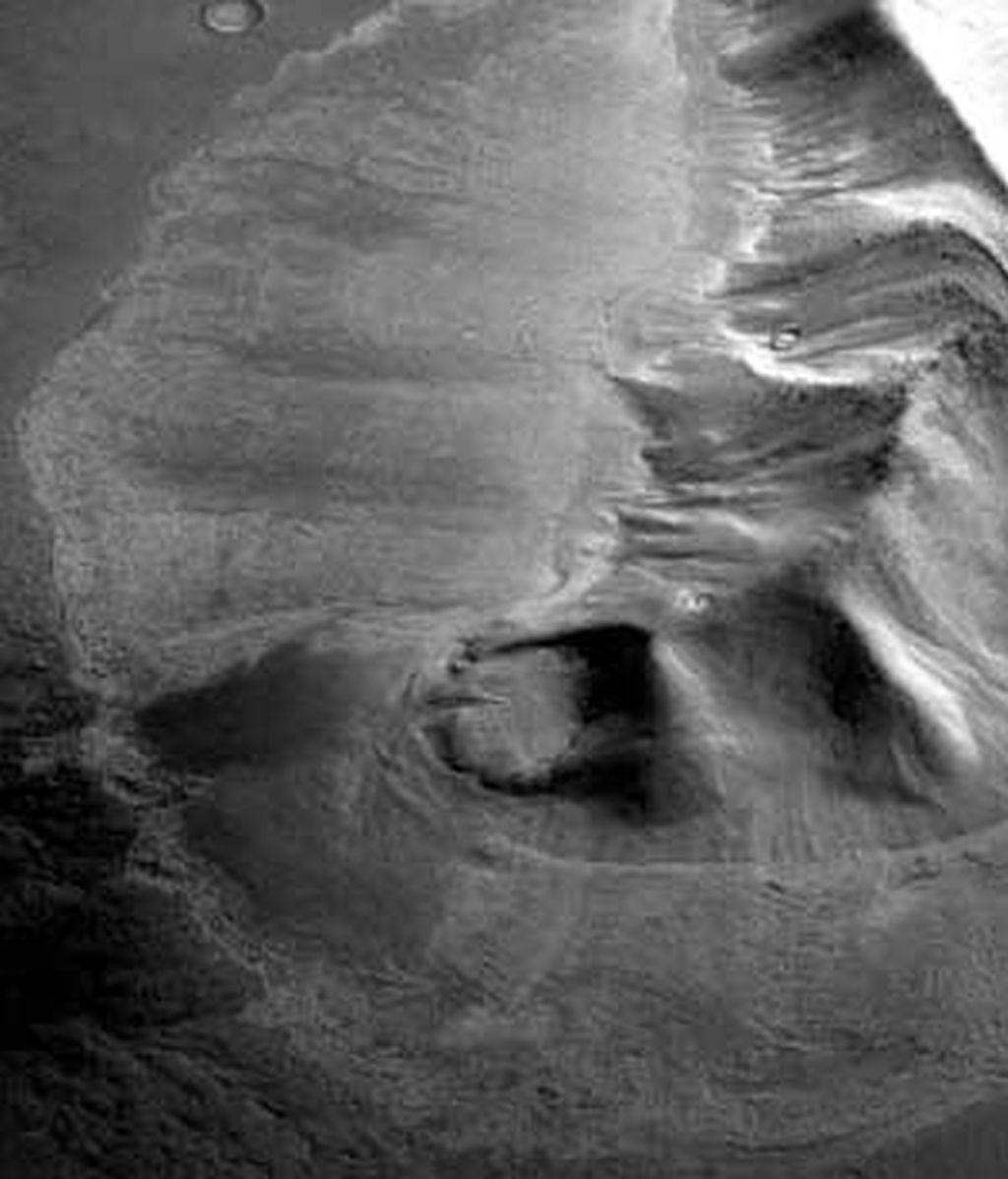 Imagen de uno de los glaciares. Foto: EFE
