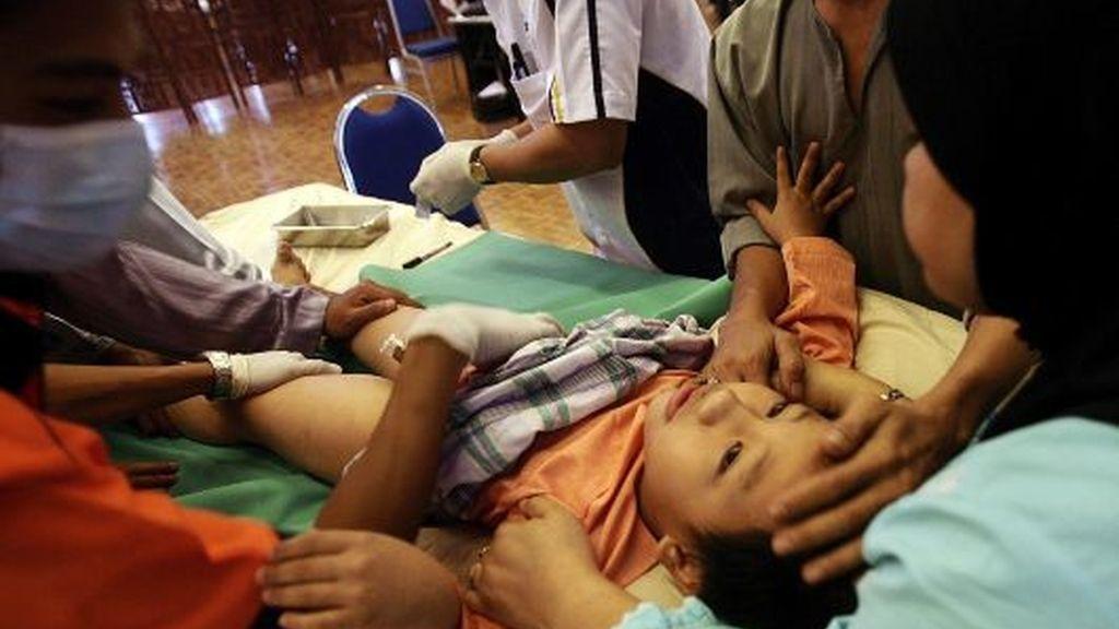 Circuncisión masiva en Kuala Lumpur