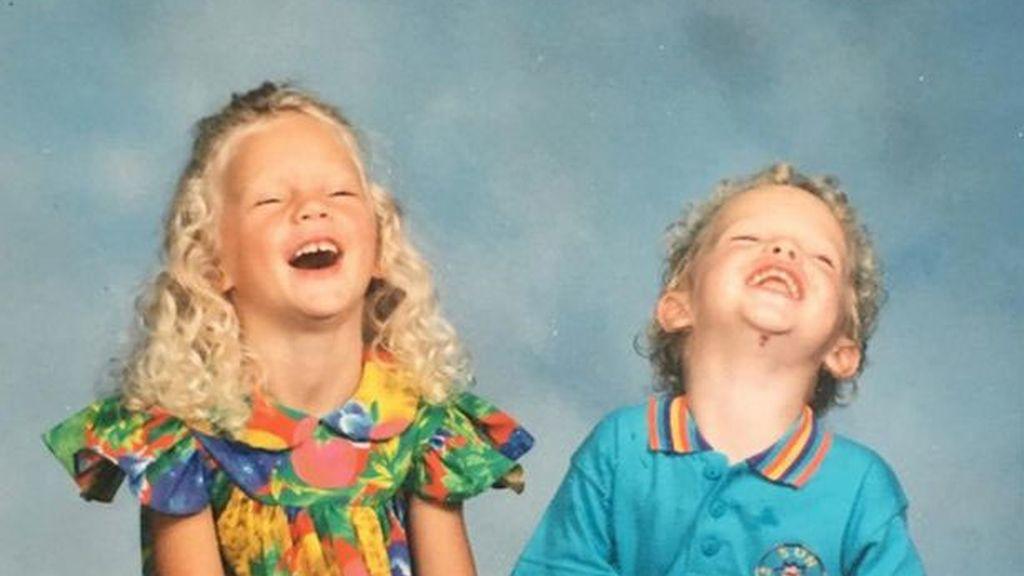 Taylor Swift y su hermano