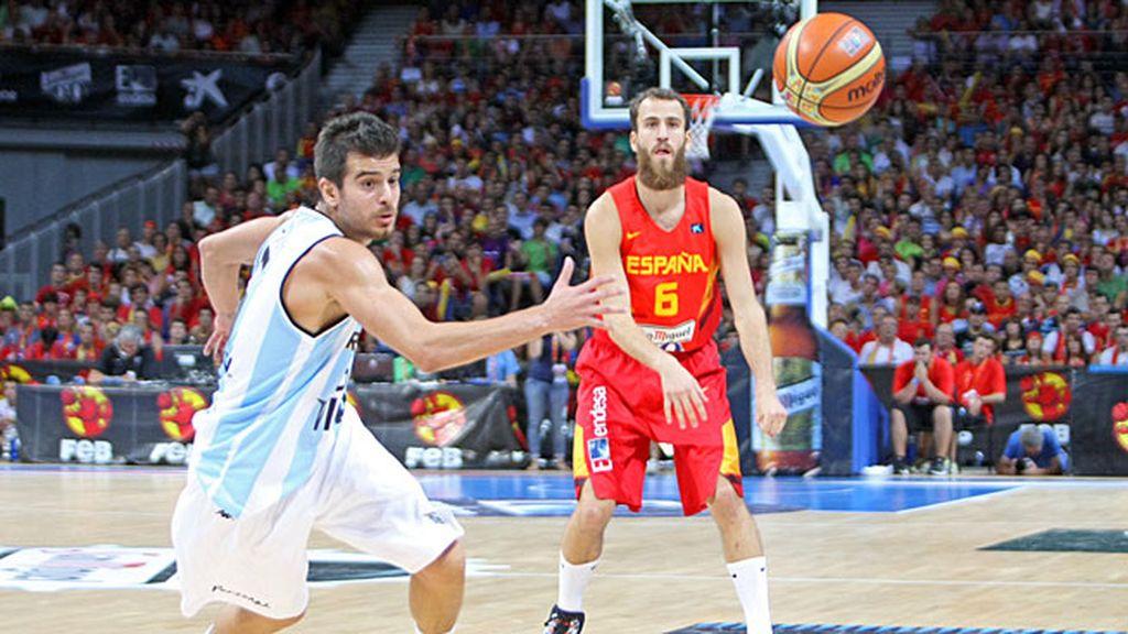 Los de Orenga, listos para el Mundobasket, tuvieron el apoyo del Rey Felipe