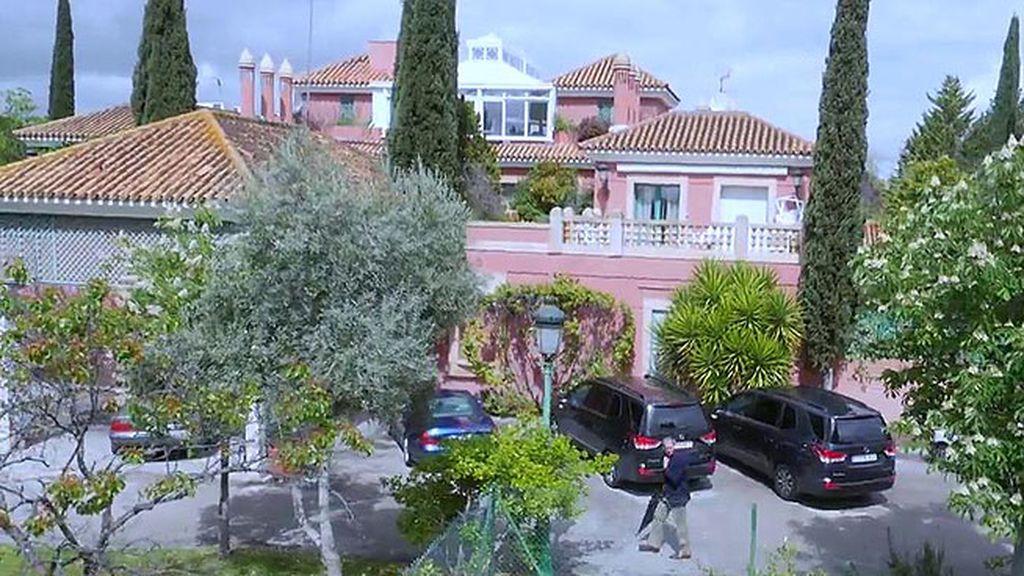El empresario tiene una impresionante mansión den Madrid