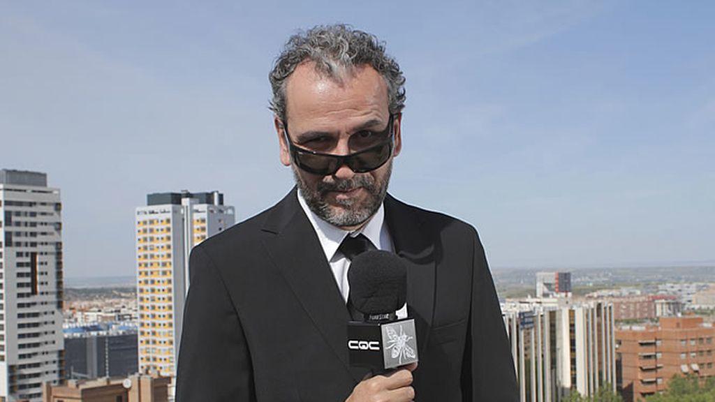 Willy Toledo se convierte por un día en reportero de CQC