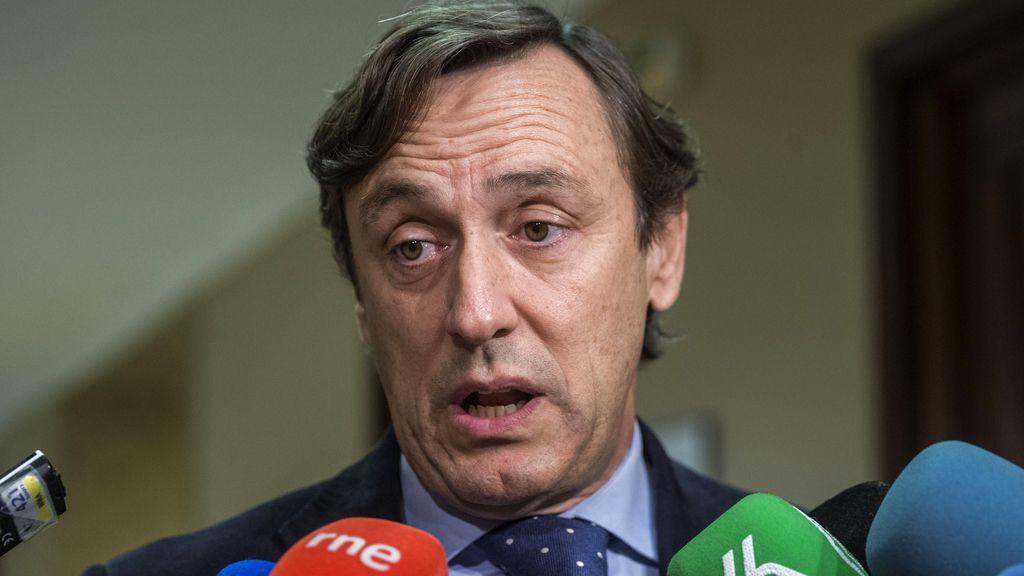 Rafael Hernando formaliza su acta de diputado