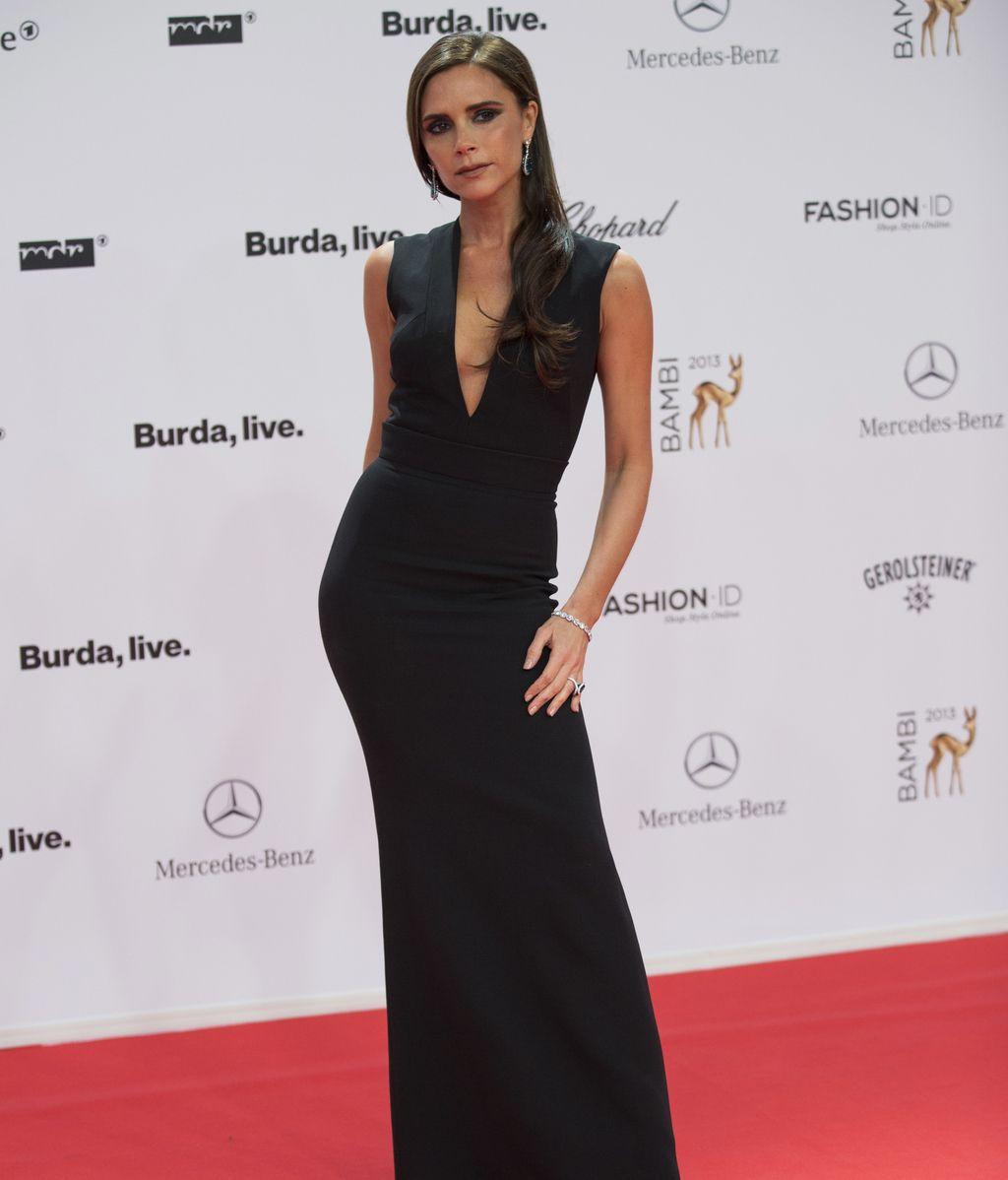 Victoria Beckham acudió a los premios
