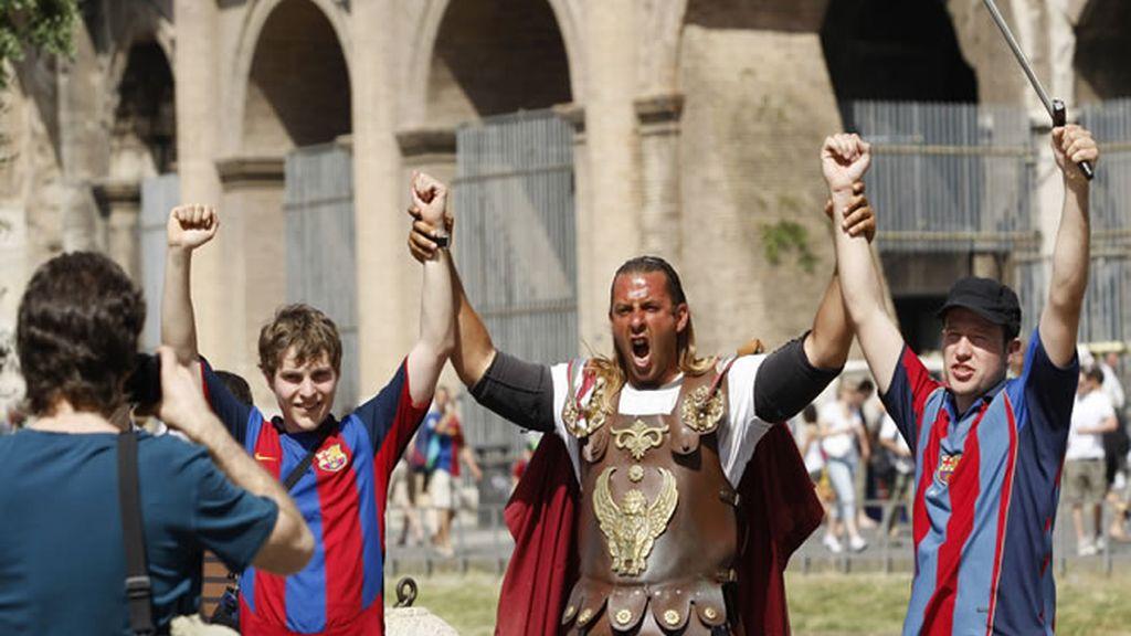 Los culés querían ser emperadores en Roma
