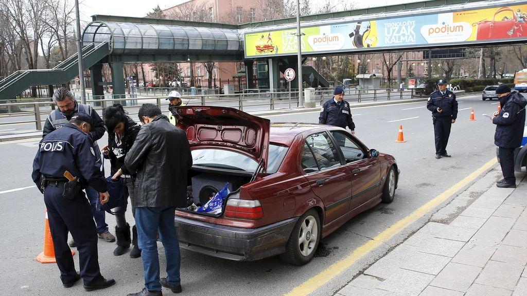 Control de seguridad en Ankara