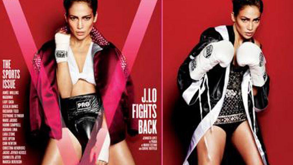 Explosivas fotos de JLo para 'V Magazine'