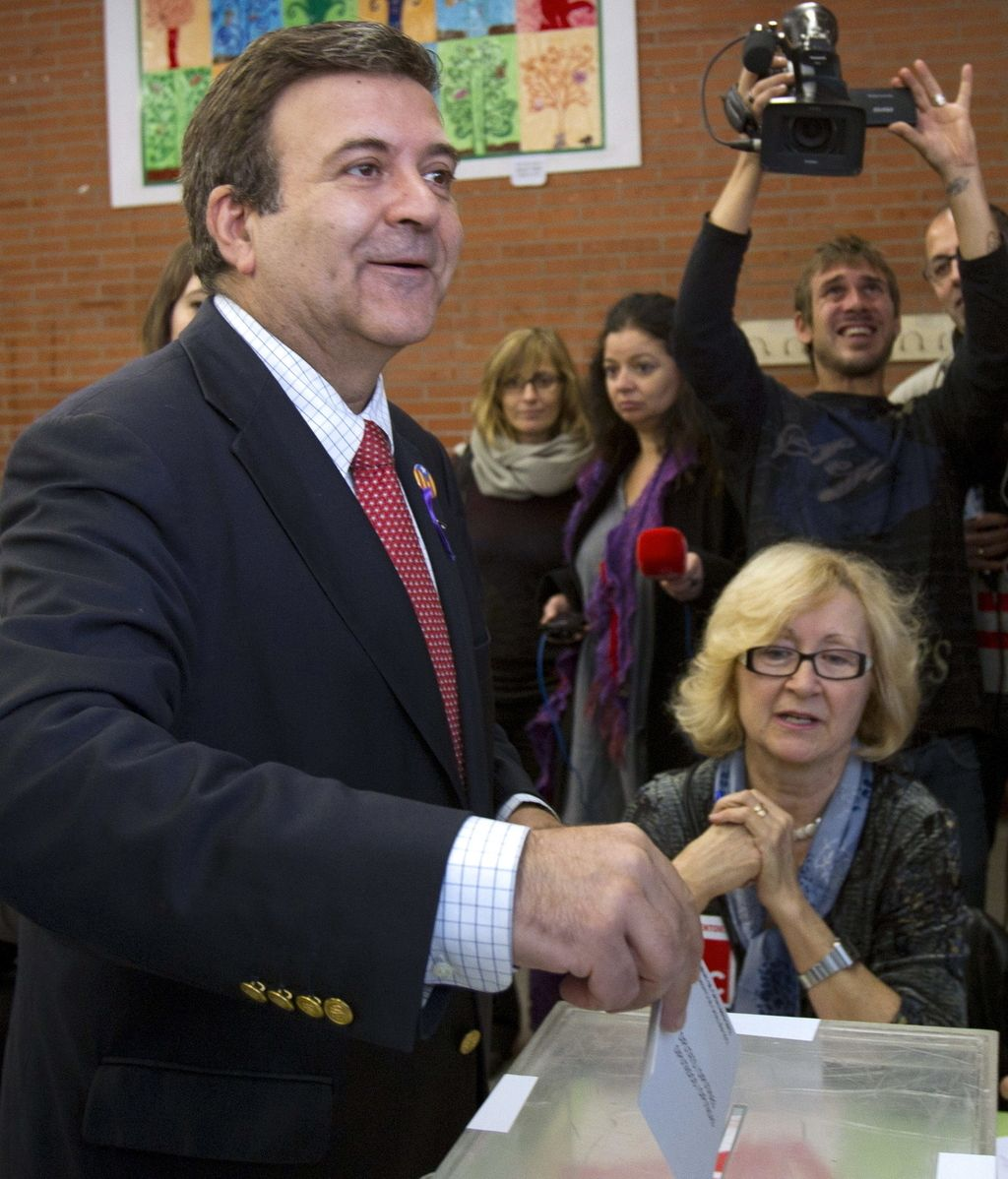 El candidato de Solidaritat (SI) a la presidencia de la Generalitat, Alfons López Tena