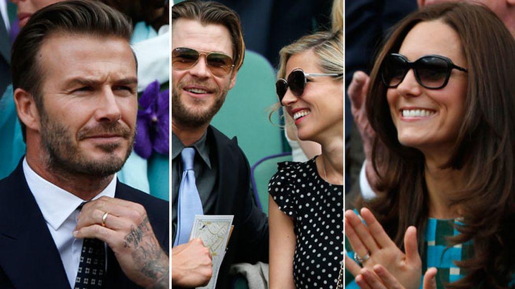 Celebrities en la final del Gran Slam más prestigioso