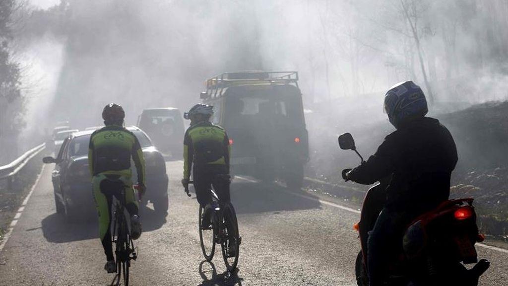 El fuego azota a Asturias