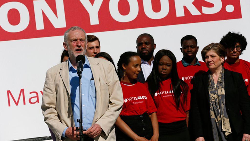 Laboristasbritánicos,  liderados por Jeremy Corbyn