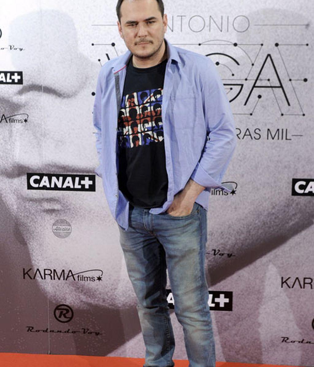 El cantante Ismael Serrano también pasó por el 'photocall'