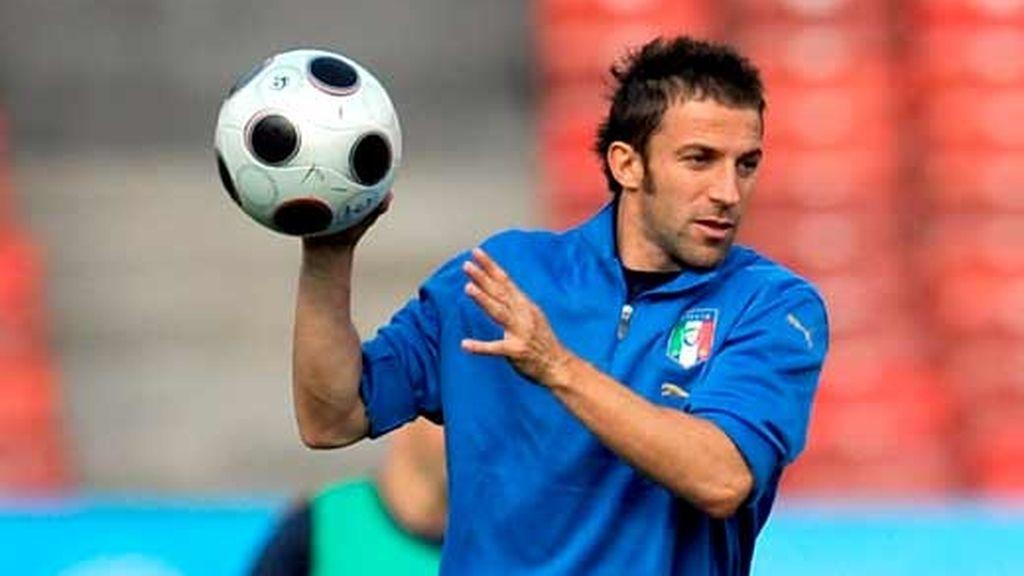 Del Piero en la Eurocopa