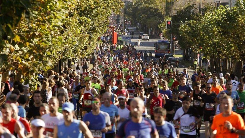Fallece un corredor navarro de 31 años en la 51 carrera popular Behobia-San Sebastián