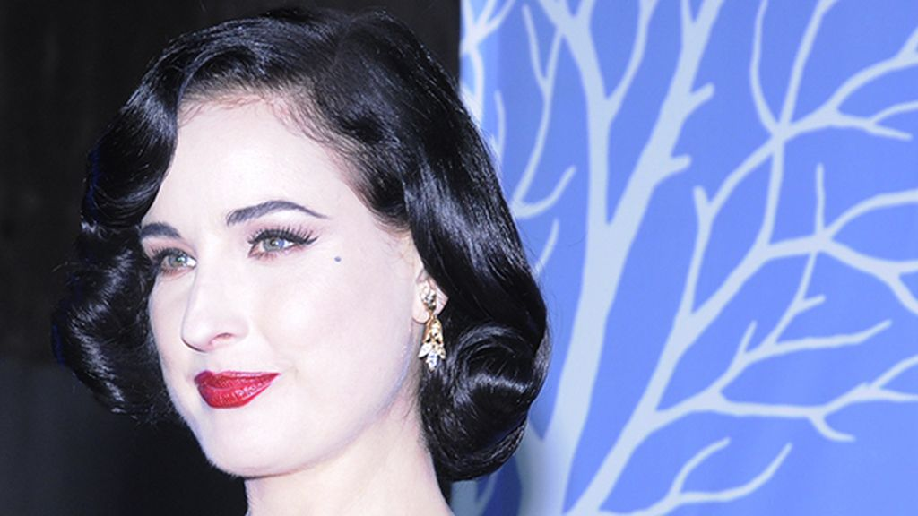 Dita Von Teese, una reina del glamour en la noche madrileña
