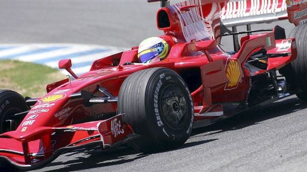 La 'aleta de tiburón' de Ferrari