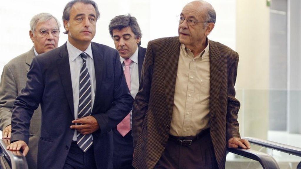 Félix Millet y Jordi Montull, ex altos directivos del Palau de la Música