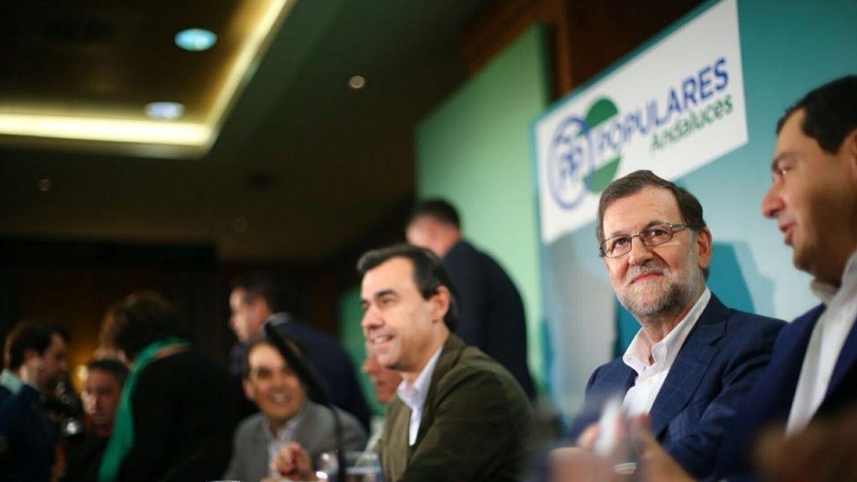 Rajoy en la junta directiva andaluza