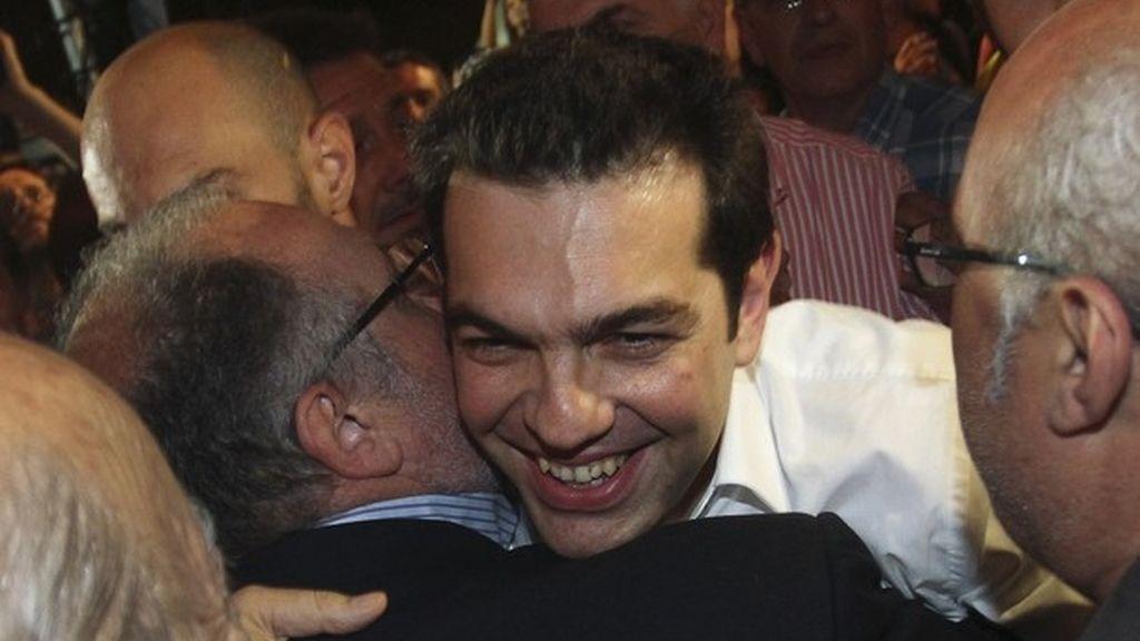 Alexis Tsipras, líder de la Coalición de la Izquierda Radical (SYRIZA)
