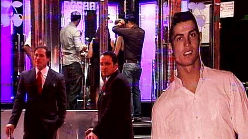 Cristiano Ronaldo de fiesta por Madrid