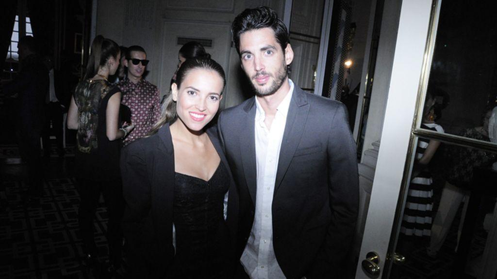 Ana Fernández y su novio Santi Trancho