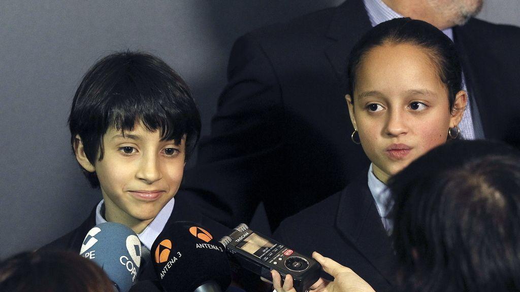 Ismael Rastrelli y Sherley Fonseca han cantado 'el Gordo' a las 10.07