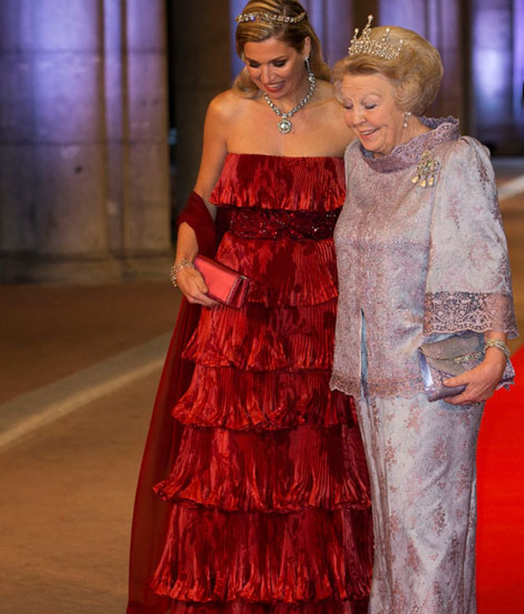 La reina Beatriz y Máxima