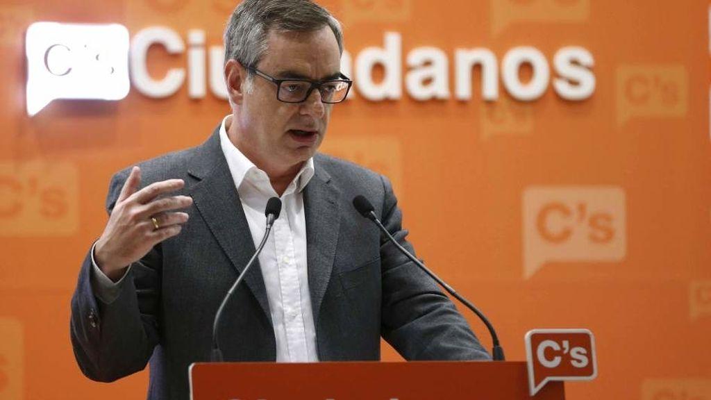 El vicesecretario general de Ciudadanos, José Manuel Villegas,