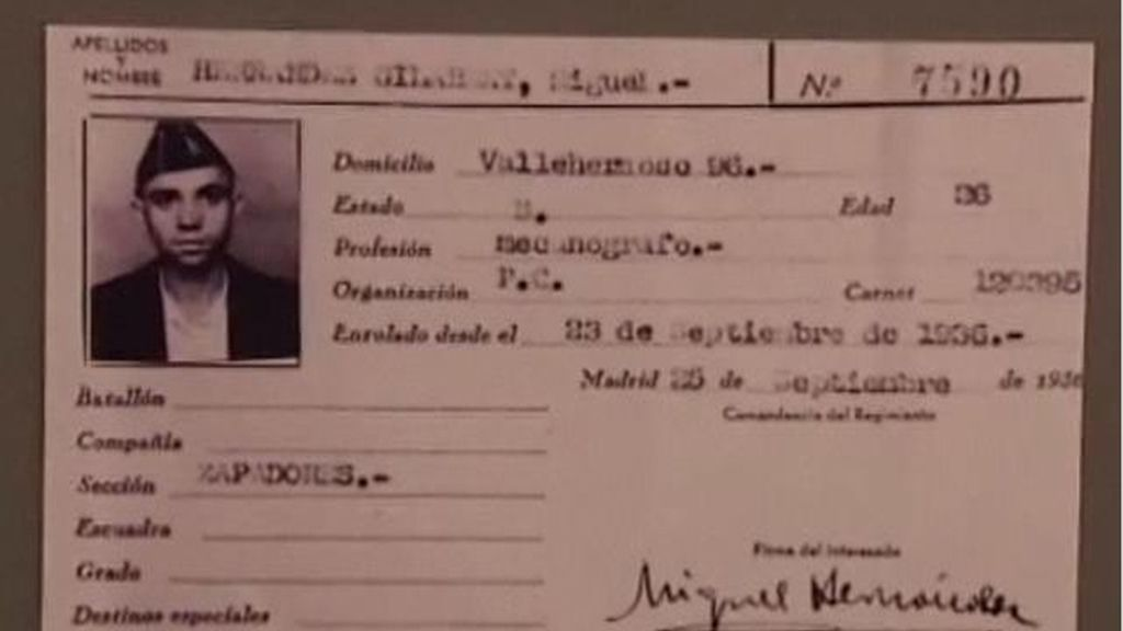 Cien años del nacimiento de Miguel Hernández