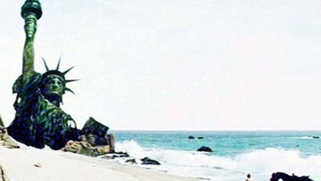 """""""El planeta de los simios"""" (1968)"""