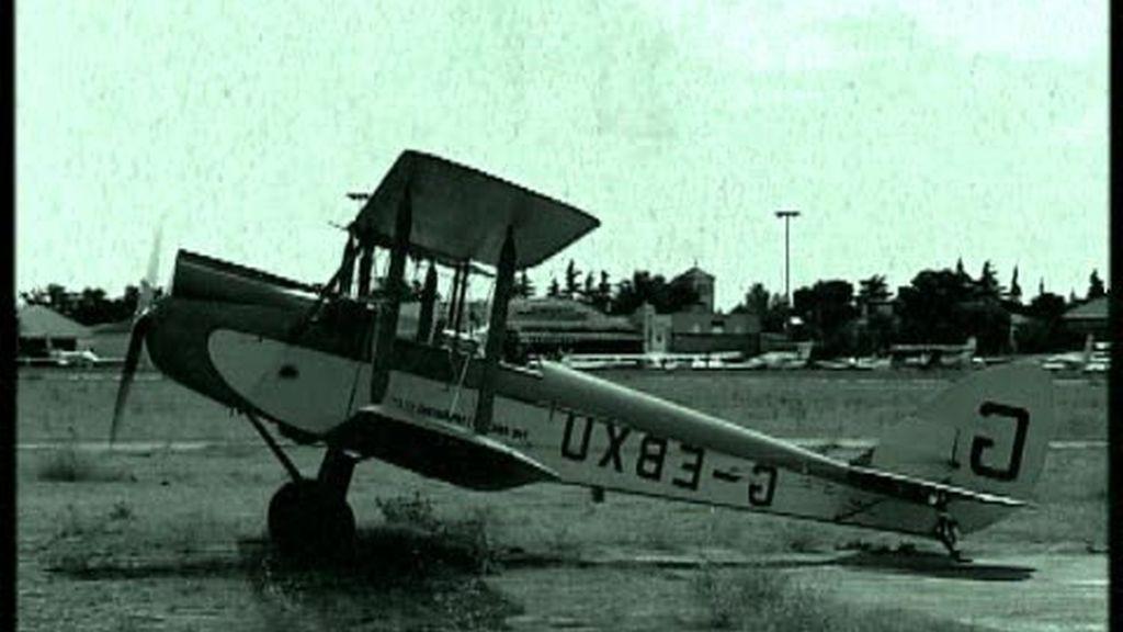 Volar en aviones de los años 30