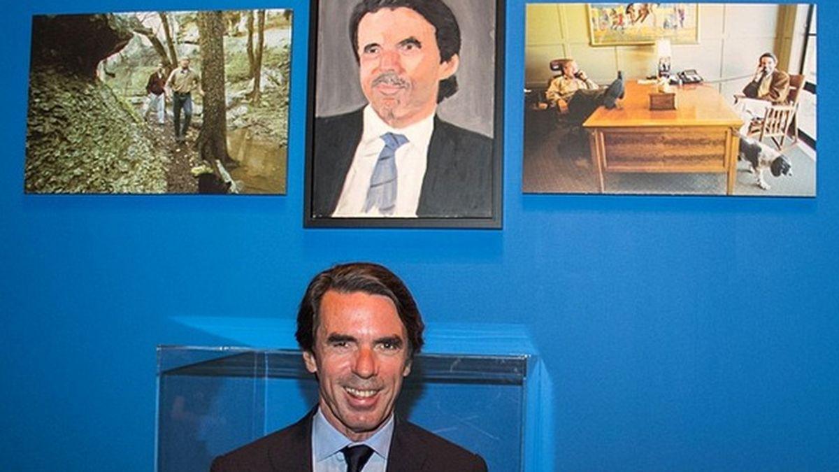 El retrato que Bush hizo de Aznar