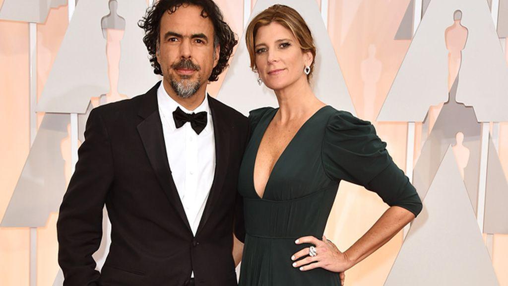 Alejandro Gonzalez Iñarritu y Maria Eladia Hagerman