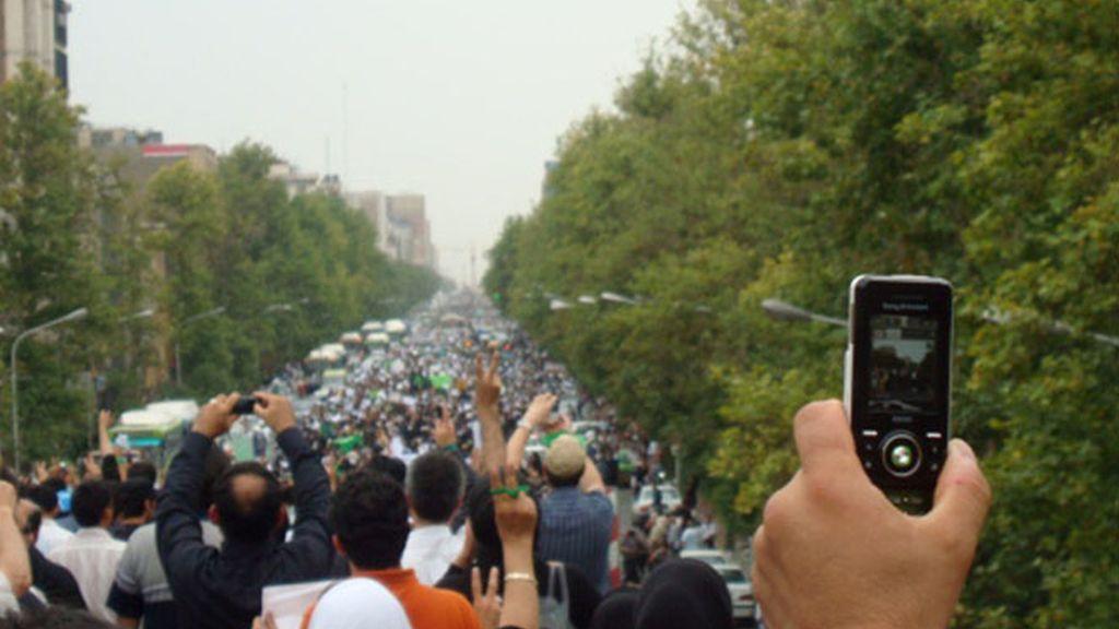 Irán manifestación