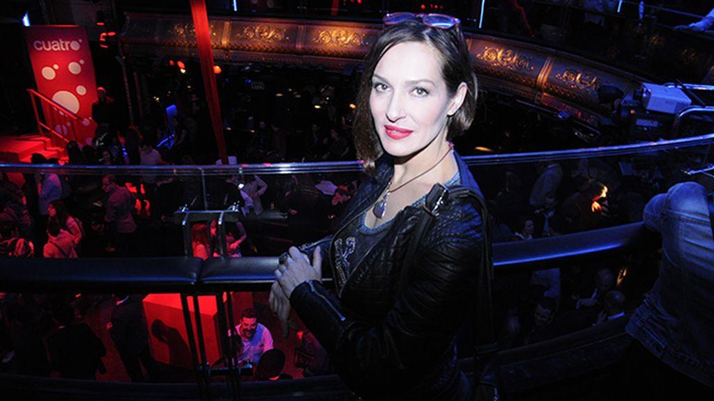 Natalia Millán, que interpreta a una vidente bastante fiable en la serie