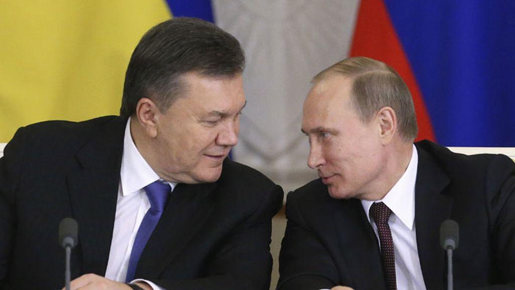 Putin y Yanulovich se ponen de acuerdo