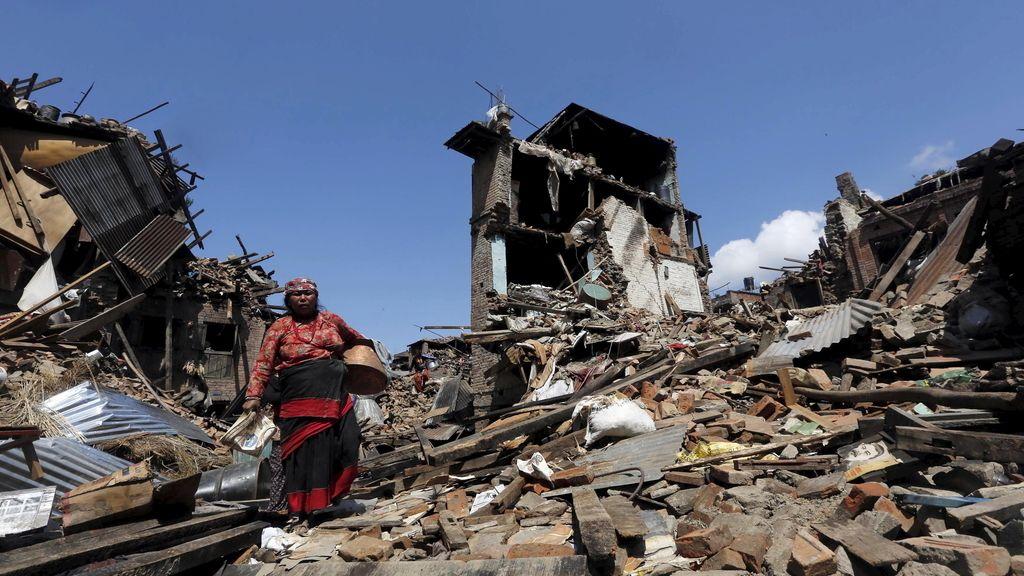 Nepal, devastado por el terremoto